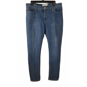 VGS Size 14 Rolled Skinny Jeans